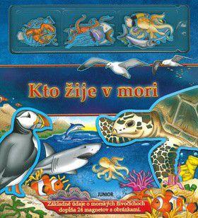 Kto žije v mori - Základné údaje dopĺňa 24 magnetov s obrázkami cena od 0 Kč