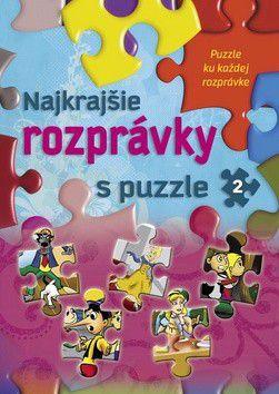 Sladana Perišić, Arpad Barna: Najkrajšie rozprávky s puzzle 2 cena od 159 Kč