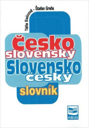 Balcová Táňa, Greňa Štefan: Česko-slovenský a slovensko-český slovník