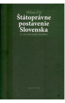 Milan Čič: Štátoprávne postavenie Slovenska cena od 40 Kč
