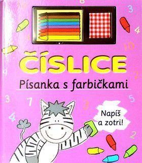 Denisa Valachová: Číslice - Písanka s farbičkami cena od 0 Kč