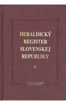 Ladislav Vrteľ, Peter Kartous: Heraldický register SR V cena od 304 Kč