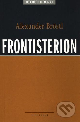 Alexander Bröstl: Frontisterion cena od 247 Kč