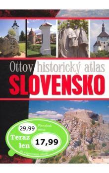 Ottov historický atlas Slovensko cena od 350 Kč