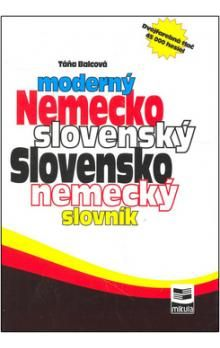 Táňa Balcová: Moderný Nemecko slovenský Slovensko nemecký slovník cena od 261 Kč