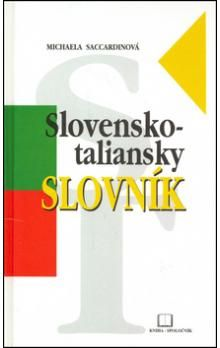 Michaela Saccardinová: Slovensko-taliansky slovník cena od 250 Kč