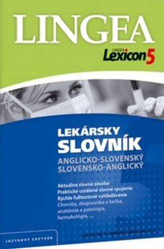 Lexicon5 Lekársky slovník anglicko-slovenský slovensko-anglický cena od 1159 Kč