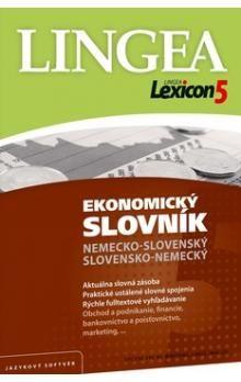 Lexicon5 Ekonomický slovník nemecko-slovenský slovensko-nemecký cena od 1159 Kč