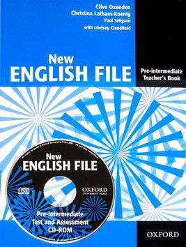 Clive Oxenden, Paul Seligson: New English File Pre-intermediate Teacher\'s book + CD-ROM