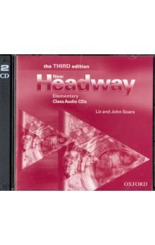 John a Liz Soars: New Headway Elementary Class 2xCD