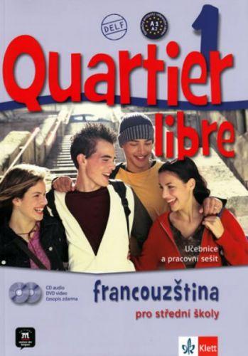 M. Bosquet: Quartier libre 1 - učebnice + CD+ DVD + časopis La revue de jeunes cena od 499 Kč