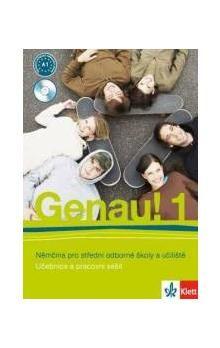 Carla Tkadlečková, P. Tlustý: Genau! 1 - Němčina pro SOŠ a učiliště (Učebnice + PS + 2CD) cena od 265 Kč