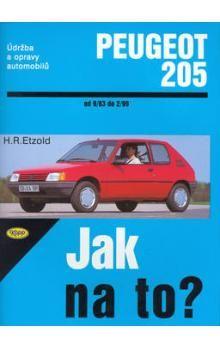 Hans-Rüdiger Etzold: Peugeot 205 - 9/83 - 2/99 - Jak na to? - 6. cena od 425 Kč