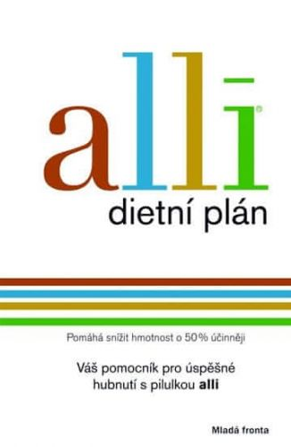 Maříková Leona: Alli - dietní plán cena od 239 Kč