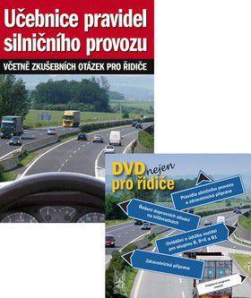 Vladimír Souček: Učebnice pravidel silničního provozu + DVD nejen pro řidiče cena od 0 Kč