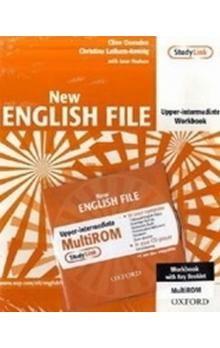 Kolektiv autorů: New English File Upper-intermediate Workbook cena od 245 Kč