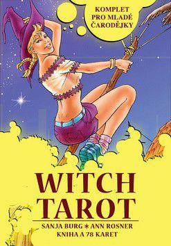Sanja Burg, Ann Rosner: Witch Tarot cena od 75 Kč