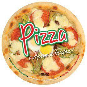 Pizza s vtipem a fantazií cena od 0 Kč