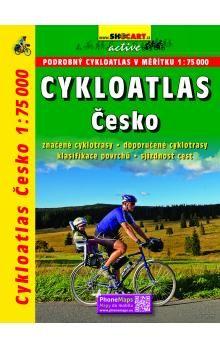 Cykloatlas Česko 1:75 000 cena od 434 Kč