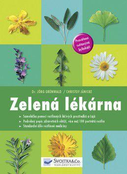 Jörg Grünwald; Christof Jänicke: Zelená lékárna cena od 0 Kč