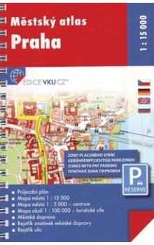Městský atlas Praha 1 : 15 000 cena od 224 Kč