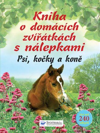 Kniha o domácích zvířátkách s nálepkami cena od 195 Kč