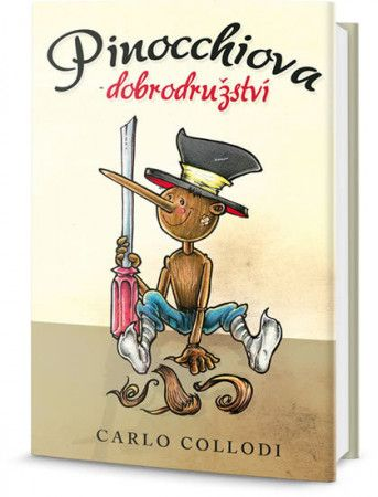 Carlo Collodi: Pinocchiova dobrodružství cena od 125 Kč