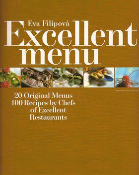 Eva Filipová: Excellent menu - anglicky cena od 184 Kč