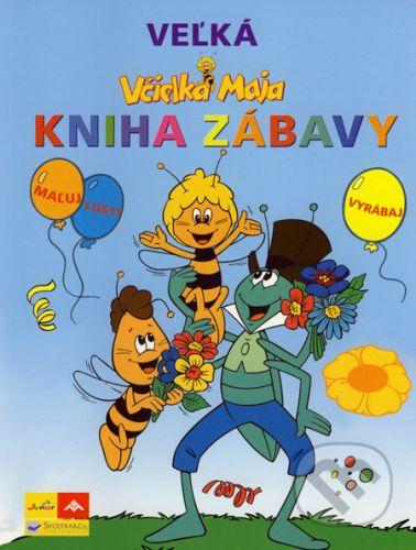 Včielka Maja Veľká kniha zábavy cena od 226 Kč