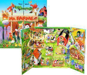 Na farme - Otvor a hraj sa! cena od 350 Kč