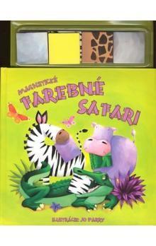 Jo Parry: Magnetické farebné safari cena od 168 Kč