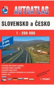 Autoatlas Slovensko a Česko cena od 183 Kč