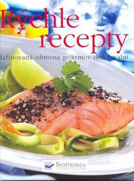 Rýchle recepty cena od 187 Kč