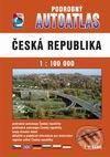 Podrobný autoatlas Česká republika 1 : 100 000 cena od 272 Kč