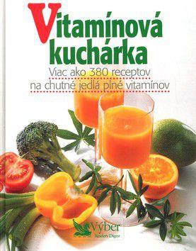 Vitamínová kuchárka cena od 519 Kč