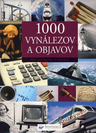 1000 vynálezov a objavov cena od 0 Kč