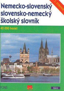 Nemecko-slovenský slovensko-nemecký školský slovník cena od 152 Kč