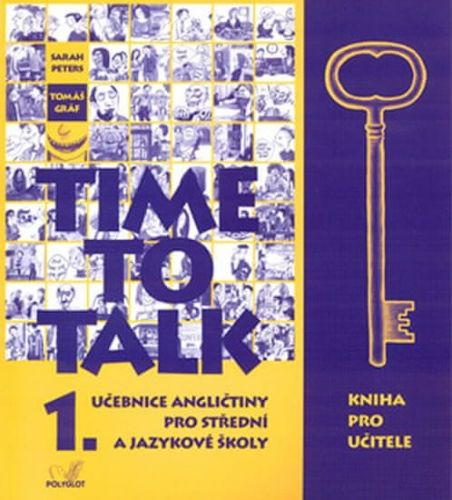 Sarah Peters: Time to Talk 1. Kniha pro učitele cena od 326 Kč