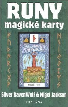Silver RavenWolf, Nigel Jackson: Runy - magické karty cena od 411 Kč