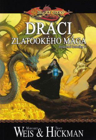 Margaret Weis, Tracy Hickman: DragonLance (06) - Draci zlatookého mága cena od 154 Kč