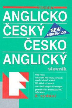FIN Anglicko český česko anglický slovník New generation cena od 560 Kč