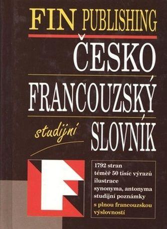 FIN Č-F slovník studijní váz. cena od 284 Kč