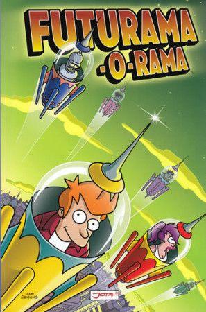 Matt Groening: Futurama-o-Rama cena od 167 Kč