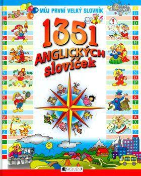 Natalija Šutjuk: 1351 anglických slovníček - Můj první velký slovník cena od 294 Kč