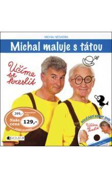 Michal Nesvadba: Michal maluje s tátou - Učíme se kreslit + DVD cena od 85 Kč