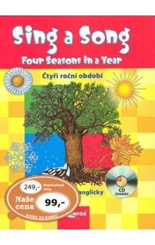 Suska Agnieszka: Sing a Song: Four Seasons in a Year + CD cena od 77 Kč