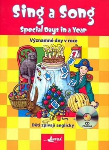 Suska Agnieszka: Sing a Song: Special Days in a Year + CD cena od 79 Kč