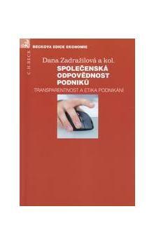 Dana Zadražilová: Společenská odpovědnost podniků cena od 357 Kč
