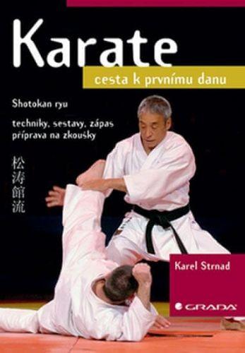 Karel Strnad: Karate : cesta k prvnímu danu cena od 226 Kč