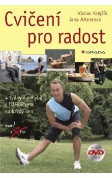 Václav Krejčík: Cvičení pro radost + DVD cena od 84 Kč